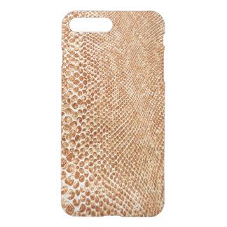 Cool Tan Snake Skin Pattern iPhone 7 Plus Case