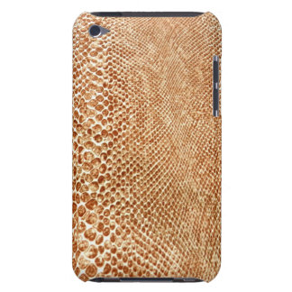 Cool Tan Snake Skin Pattern Photo Print Barely There iPod Cases