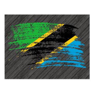 Cool Tanzanian flag design Postcard
