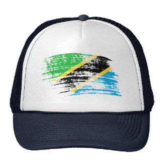 Cool Tanzanian flag design Trucker Hat