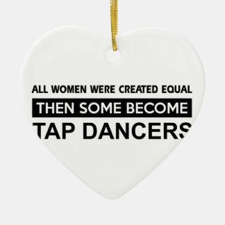 Cool Tap Dancing designs Ceramic Ornament