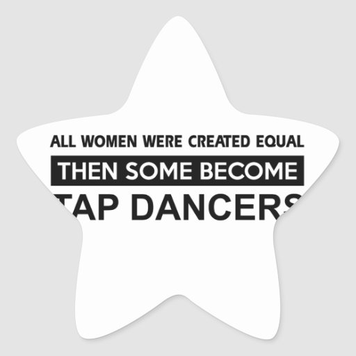 Cool Tap Dancing designs Stickers