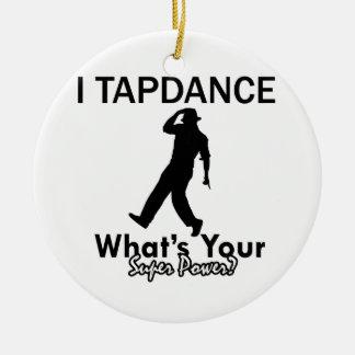 Cool Tapdance designs Ceramic Ornament