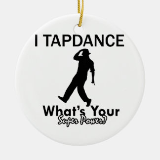 Cool Tapdance designs Christmas Tree Ornament