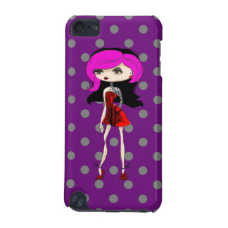 Cool Tattoo Girl Doll Design iPod Touch 5G Case