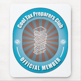 Cool Tax Preparers Club Mouse Pad