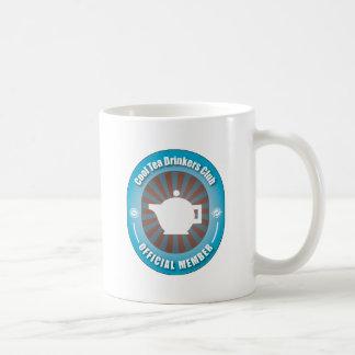 Cool Tea Drinkers Club Classic White Coffee Mug