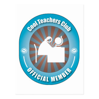 Cool Teachers Club Postcard