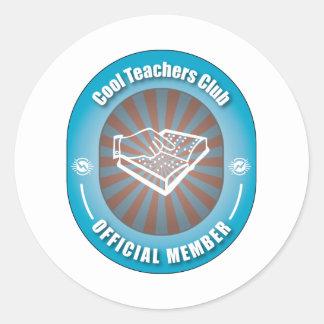Cool Teachers Club Sticker