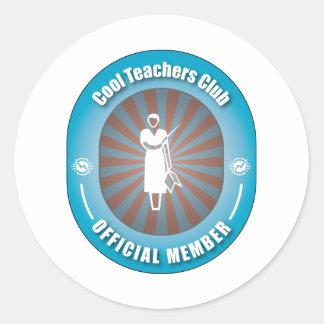 Cool Teachers Club Stickers