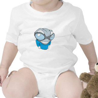 Cool Techno Frog T Shirt