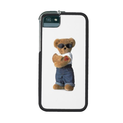 cool iphone 5s cases cool teddy iphone 5 5s cases zazzle 13878