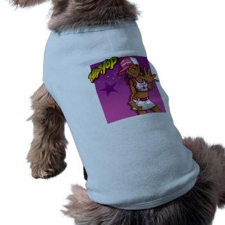 Cool Teen Hip Hop Rapper Pink and Purple Cartoon Shirt
