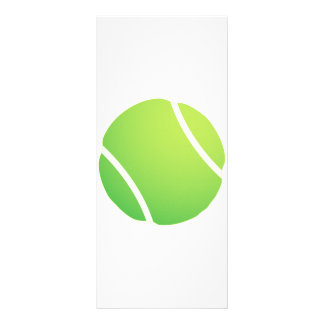 Cool Tennis Ball for tennis team jerseys Rack Card