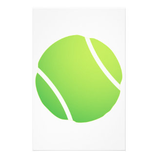 Cool Tennis Ball for tennis team jerseys Stationery
