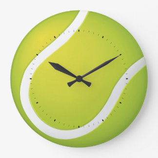 Cool Tennis ball | Time for Sports Large Clock