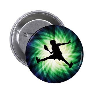 Cool Tennis Pinback Buttons