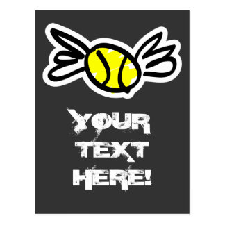 Cool tennis card invitation personlized!