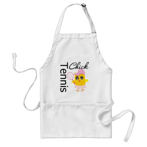 Cool Tennis Chick Aprons