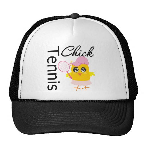 Cool Tennis Chick Hat