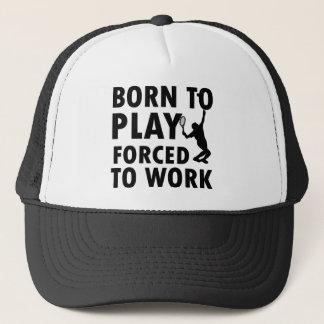 Cool Tennis Designs Trucker Hat