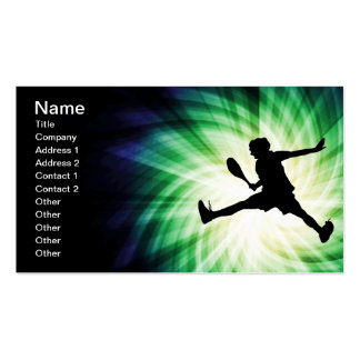 Cool Tennis Double-Sided Standard Business Cards (Pack Of 100)