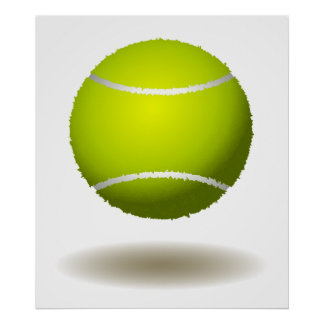 Cool Tennis Emblem 2 Poster