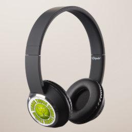Cool Tennis Emblem Headphones