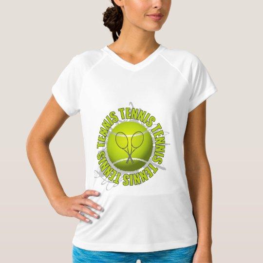 Cool Tennis Emblem T-Shirt