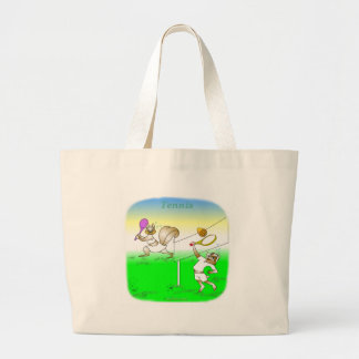 Cool tennis gifts for kids canvas bag