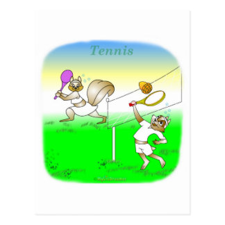 Cool tennis gifts for kids postcard
