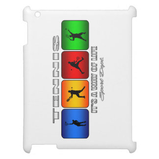 Cool Tennis It Is A Way Of Life (Male) iPad Cover