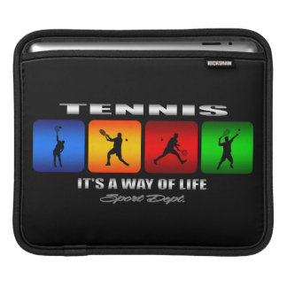 Cool Tennis It Is A Way Of Life (Male) iPad Sleeve
