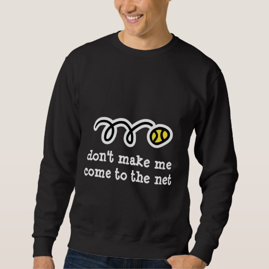 Cool tennis t shirt with funny text slogan