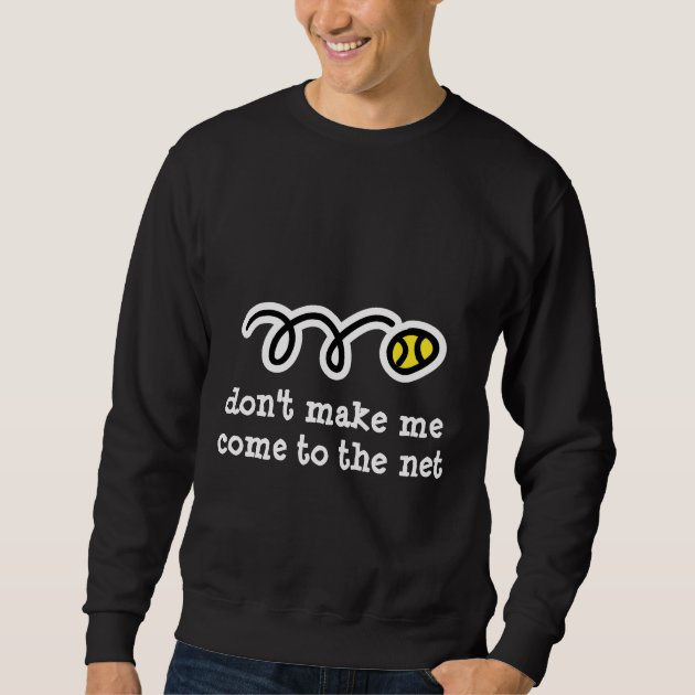 Cool tennis t shirt with funny text slogan |
