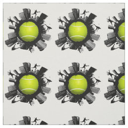 Cool Tennis World Fabric
