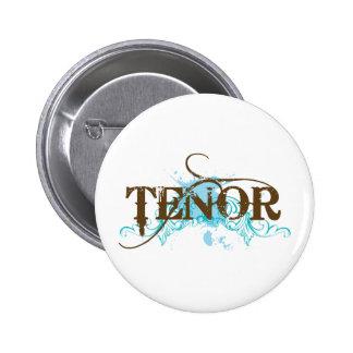 Cool Tenor Blue Button