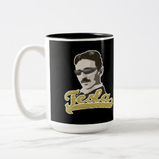 Cool Tesla with Shades Mug