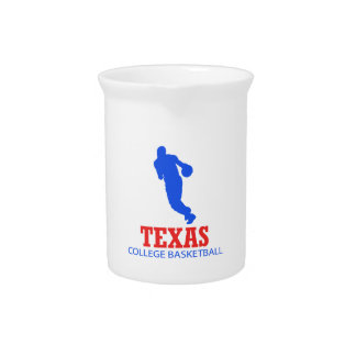 cool Texas basketball DESIGNS Drink Pitchers
