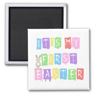 Cool Text 1st Easter (girl) Tshirts and Gifts Refrigerator Magnets