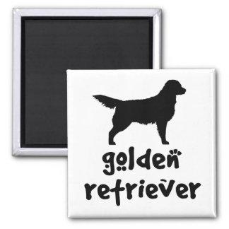 Cool Text Golden Retriever Refrigerator Magnet