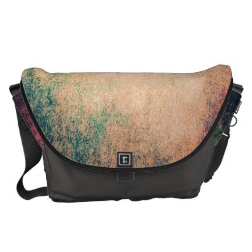 Cool Texture Abstract Grunge Vintage Messenger Bag