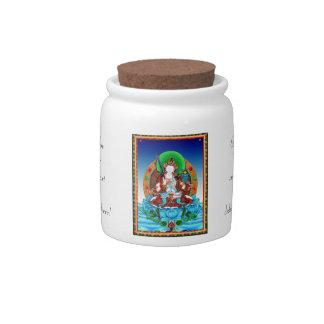 Cool thangka Akasagarbha Bodhisattva Mahasattva Candy Dish