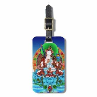 Cool thangka Akasagarbha Bodhisattva Mahasattva Bag Tag