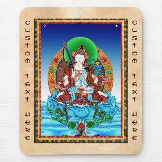 Cool thangka Akasagarbha Bodhisattva Mahasattva Mouse Pad