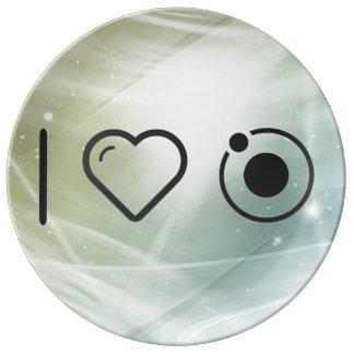 Cool The Orbit Porcelain Plates