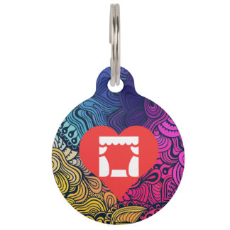 Cool Theaters Pictograph Pet Tag
