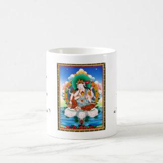 Cool tibetan thangka Cintamanicakra Avalokitesvara Classic White Coffee Mug