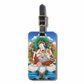 Cool tibetan thangka Cintamanicakra Avalokitesvara Tags For Bags