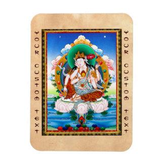 Cool tibetan thangka Cintamanicakra Avalokitesvara Magnet